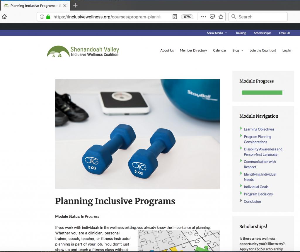 Program Planning Module